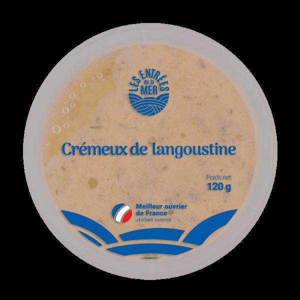 Crémeux langoustine DESSUS | Les Entrées de la mer