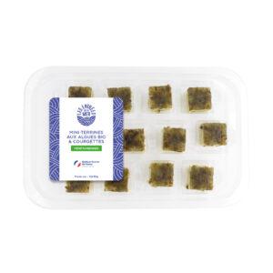 Mini-terrines aux algues bio & courgettes | Traiteur de la Mer | Les Entrées de la Mer